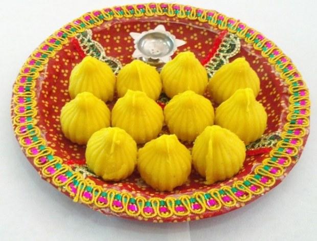 Ganpati-Special-Modak-Pooja-Thali